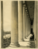 San Diego Normal School portico, 1917