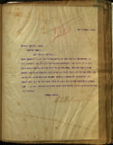 Letter from E. S. Babcock to Warren Wilson, Esq.