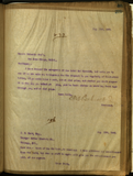 Letter from E. S. Babcock to Schwartz Brothers