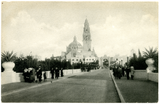 Entrance to Plaza de California, Exposition, 1915