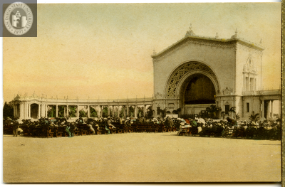 The Great Open Air Organ, Exposition, 1915