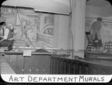 Art Department murals, 1935