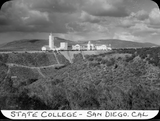 State College, San Diego, California, 1935