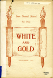 White and Gold yearbook, 1905
