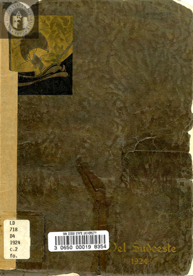 Del Sudoeste yearbook, 1924