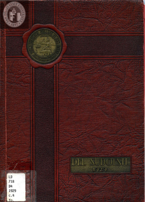 Del Sudoeste yearbook, 1929