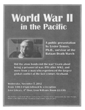 Lester Tenney, World War II presentation announcement.