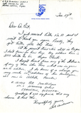 Letter from Robert H. Anderson, 1942