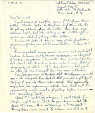 Letter from Owen F. Asberry, 1942