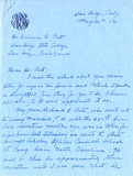 Letter from Mabel Rule Bate, 1942