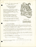 The Aztec News Letter, Number 6, August 28, 1942
