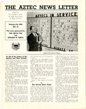 The Aztec News Letter, Number 12, February 26, 1943