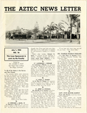The Aztec News Letter, Number 16, July 1, 1943
