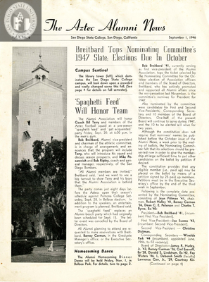 The Aztec Alumni News, Volume 1, Number 6, September 1, 1946