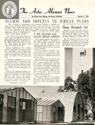 The Aztec Alumni News, Volume 1, Number 11, February 1, 1947