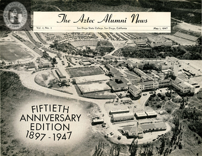 The Aztec Alumni News, Volume 2, Number 2, May 1, 1947