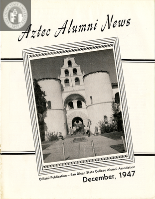 The Aztec Alumni News, Volume 6, Number 7, December 1947
