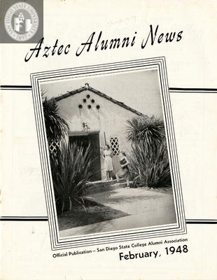 The Aztec Alumni News, Volume 6, Number 8, February 1948