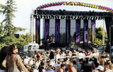 Crowd at San Diego Pride stage, 1995