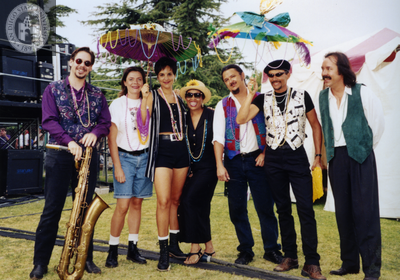 Kenny Ard and performers at San Diego Pride, 1995