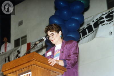 Out & Free awards ceremony at San Diego Pride, 1995