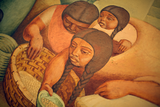 "Detail of the mural ""Market,"" 1949"