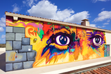 "The ""Eyes of Picasso"" on Art II (North), 2015"