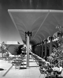 Terrace at Aztec Center, 1968