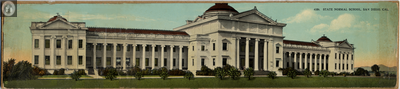 San Diego State Teachers' College postcard, 1924