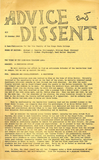 Advice and Dissent: 10/15/1968