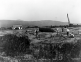 Hepner Hall site, 1929