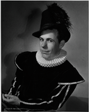 An unidentified actor in Twelfth Night, 1949