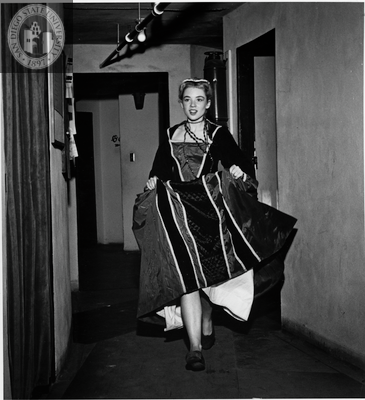 Ann Jones in Twelfth Night, 1949