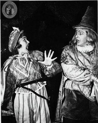 Ann Deering in Twelfth Night, 1949