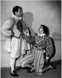 John Clark and Ann Deering in Twelfth Night, 1949