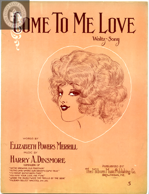 Come to me love, 1913