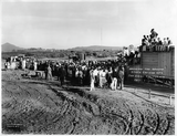 Ground breaking for new site, 1929