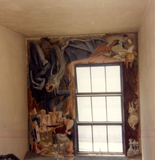 Mural in Hardy Tower, 1984